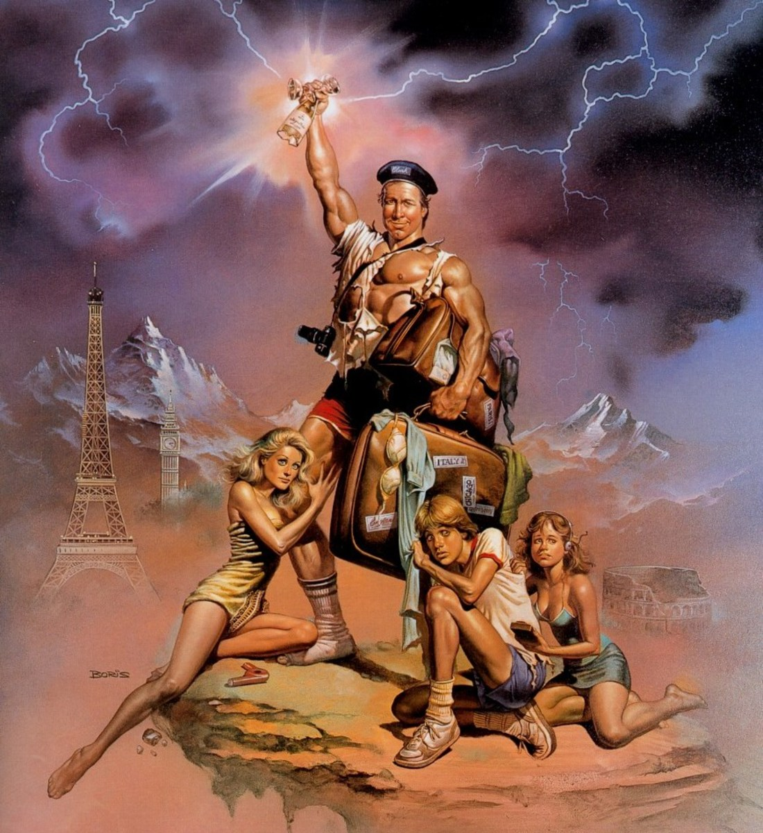 European Vacation - art by Boris Vallejo