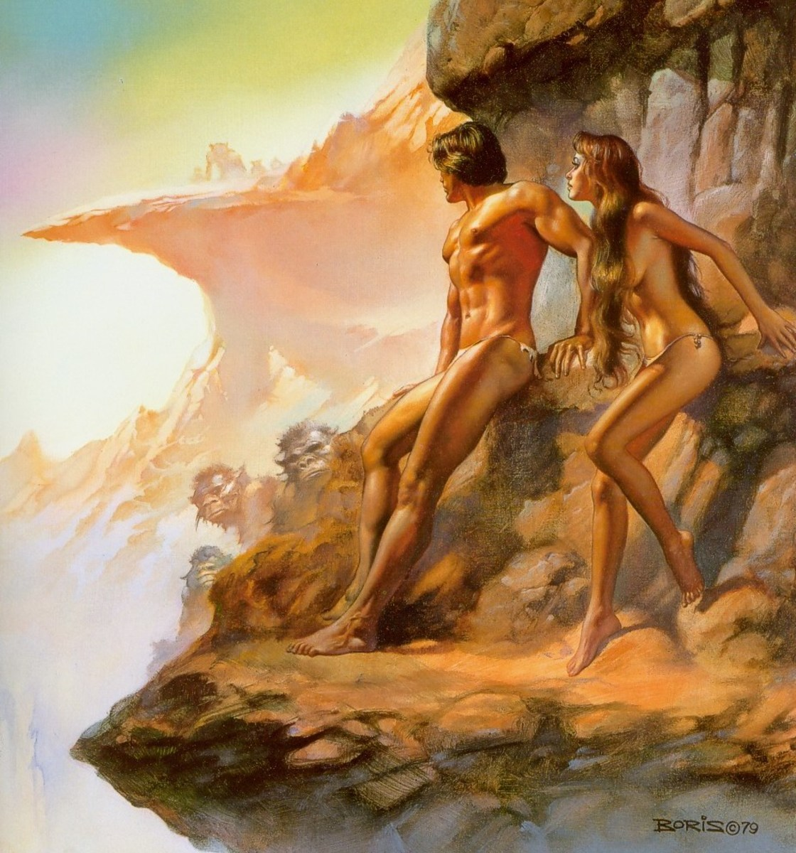 The World of Tiers - art by Boris Vallejo