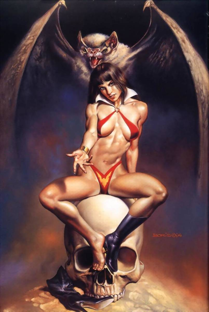 Vampirella - art by Boris Vallejo