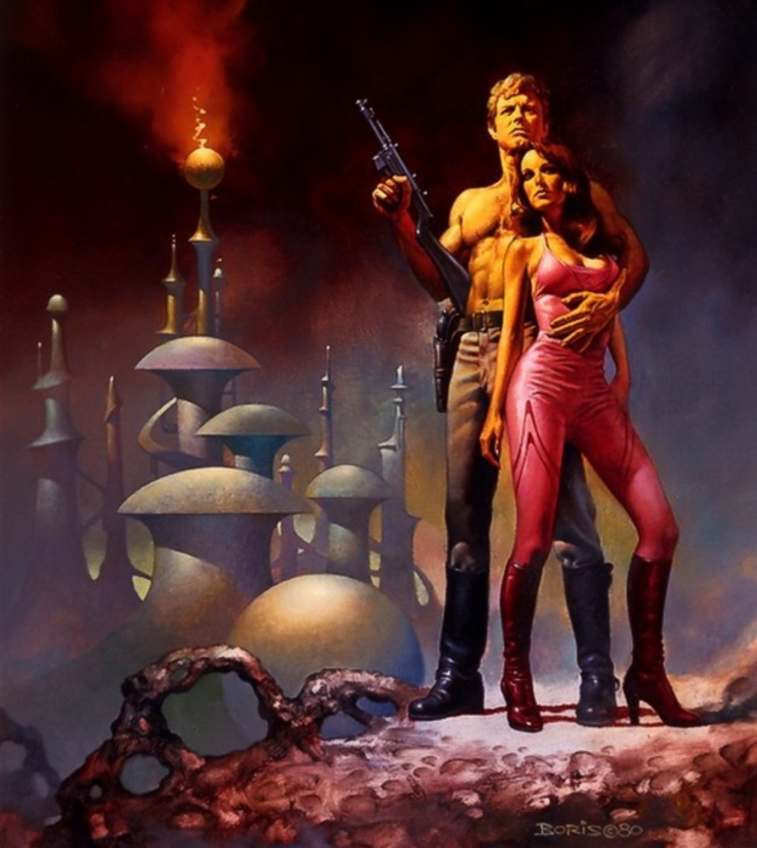 Flash Gordon Book One - art by Boris Vallejo