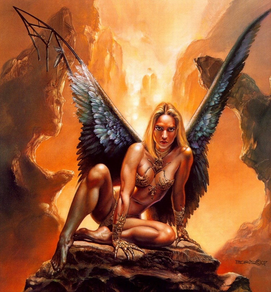 Fawal - art by Boris Vallejo