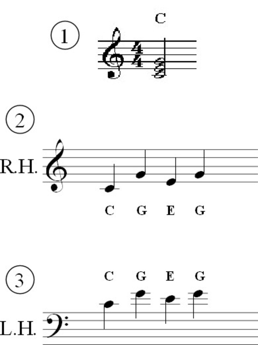 Alberti Bass Piano Accompaniment