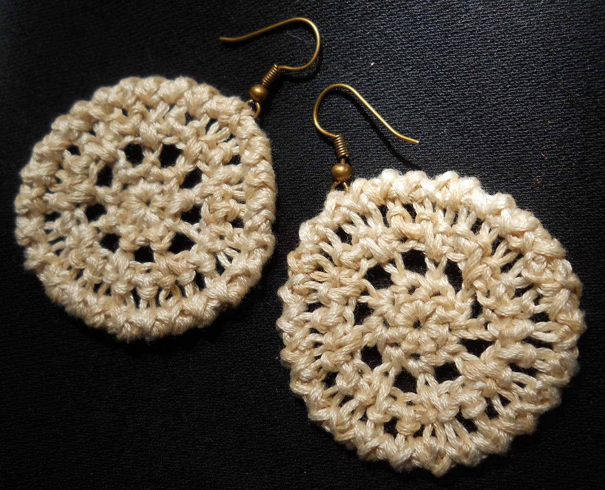 Understated Elegance Crochet Earrings