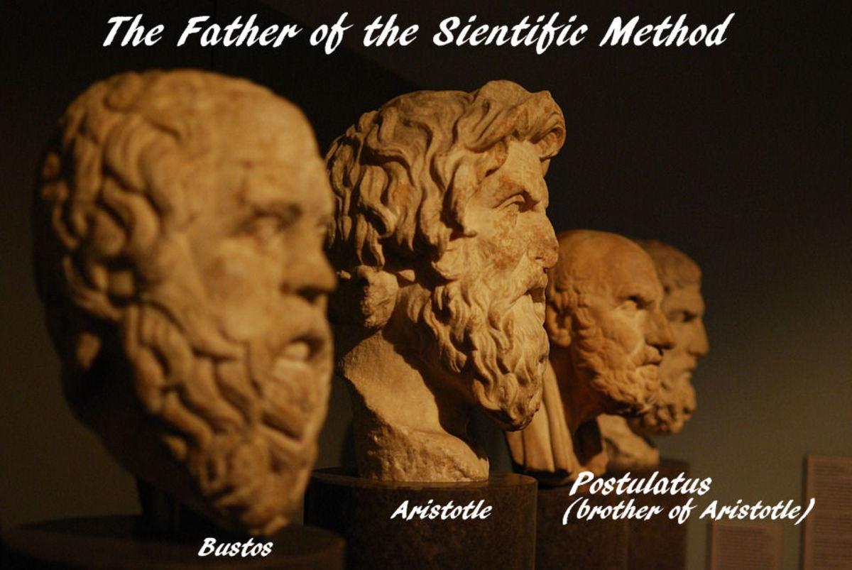 Greek Philosopher Postulatus and brother Aristotle