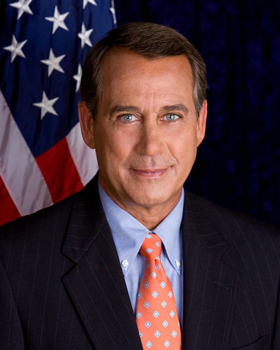 US Speaker of the House, John Boehner