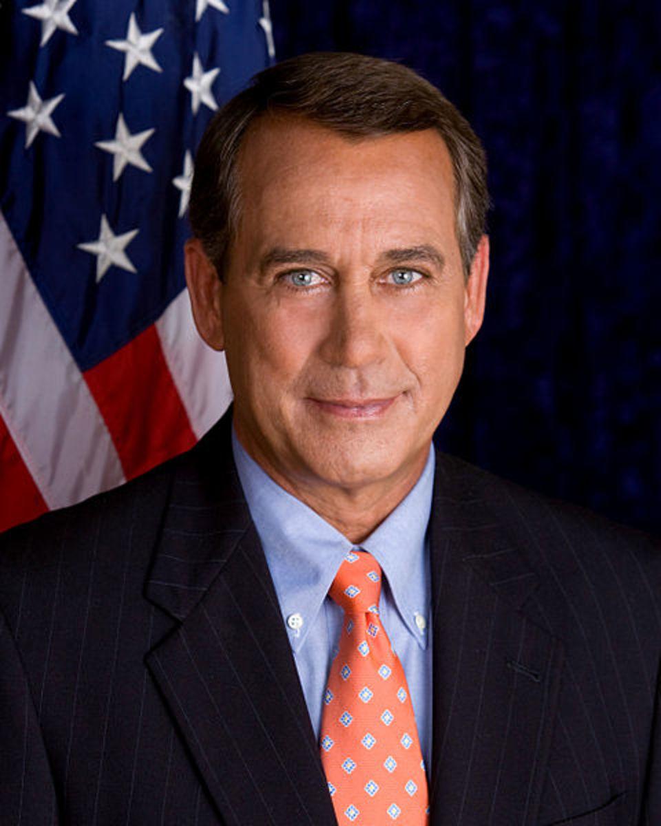 US Speaker of the House, John Boehner