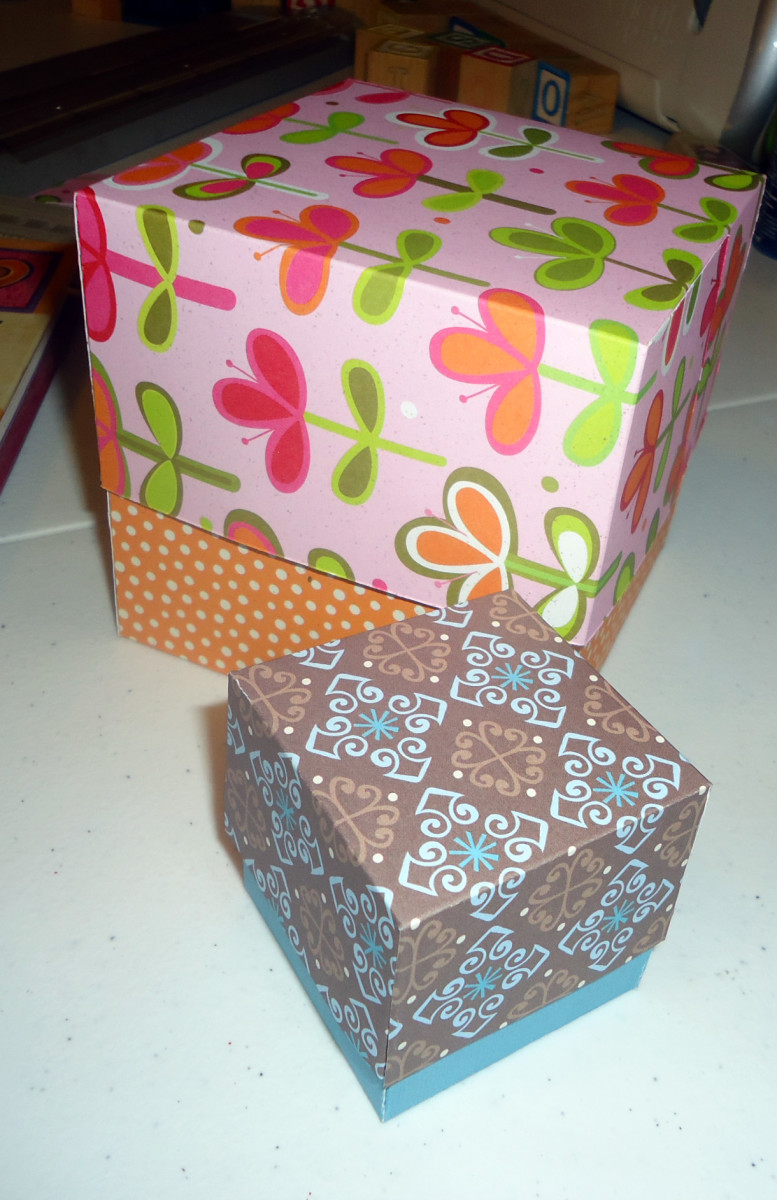 easy gift box tutorial make your own custom gift boxes. Black Bedroom Furniture Sets. Home Design Ideas