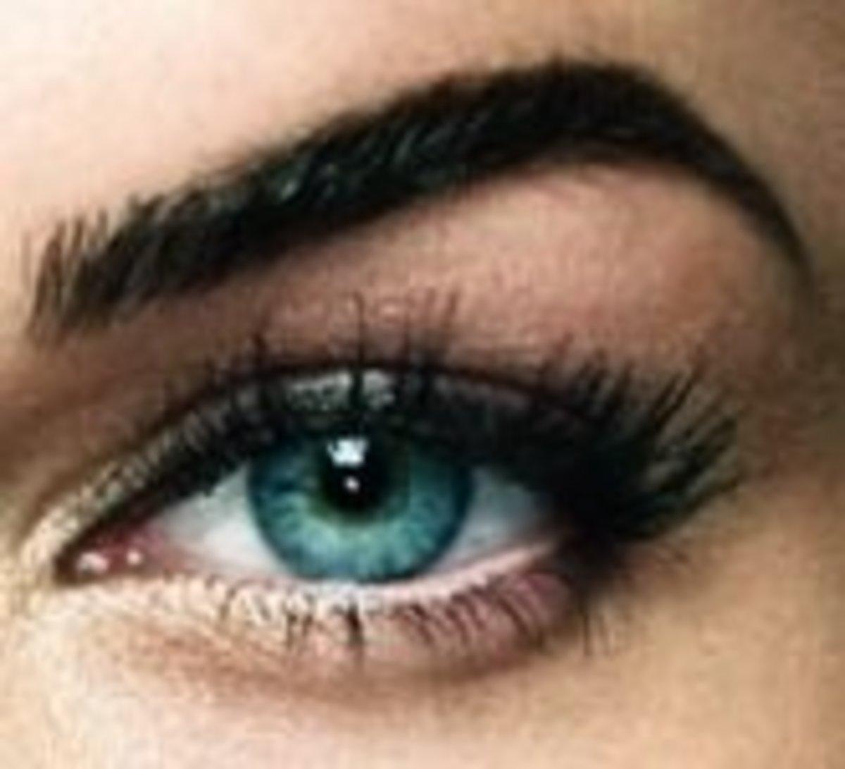 Aqua blue eye