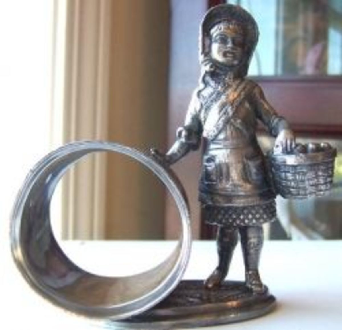 Victorian Figural Silverplate Napkin Rings: Faked or Real?