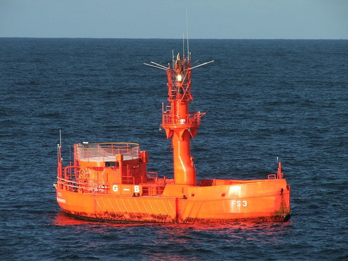 The unmanned Lightship FS 3 GB (German Bight Western Approach)