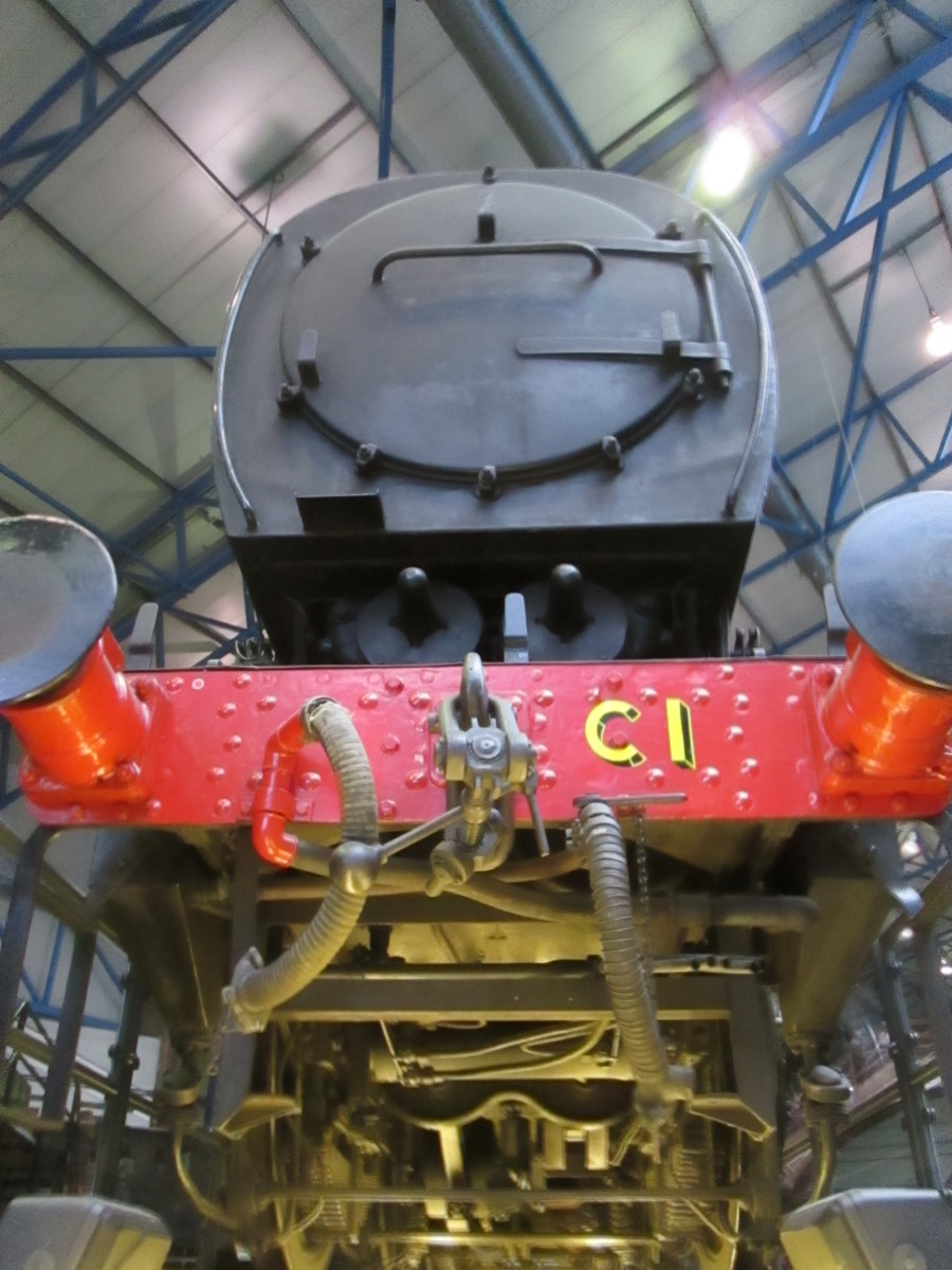 The SR Austerity on the inspection pit at the NRM. Let's look underneath...