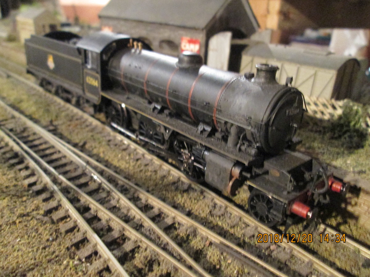 ... And in model form, Hornby's K1 62064 - only a small renumbering job here gave the loco a Teesside identity - early 1950s allocated to 51E Stockton-on-Tees