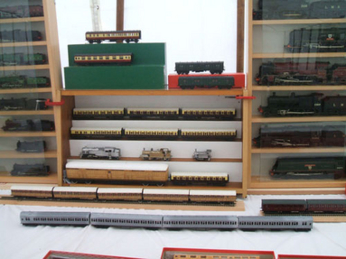 Exhibition Stand Tenders : Rites of passage for a model railway tender