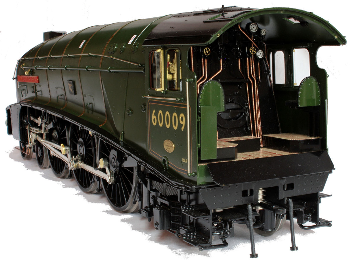 Gauge 1 A4 60009 'Union of South Africa' - the  next ultimate is the next one up before you get to the real thing