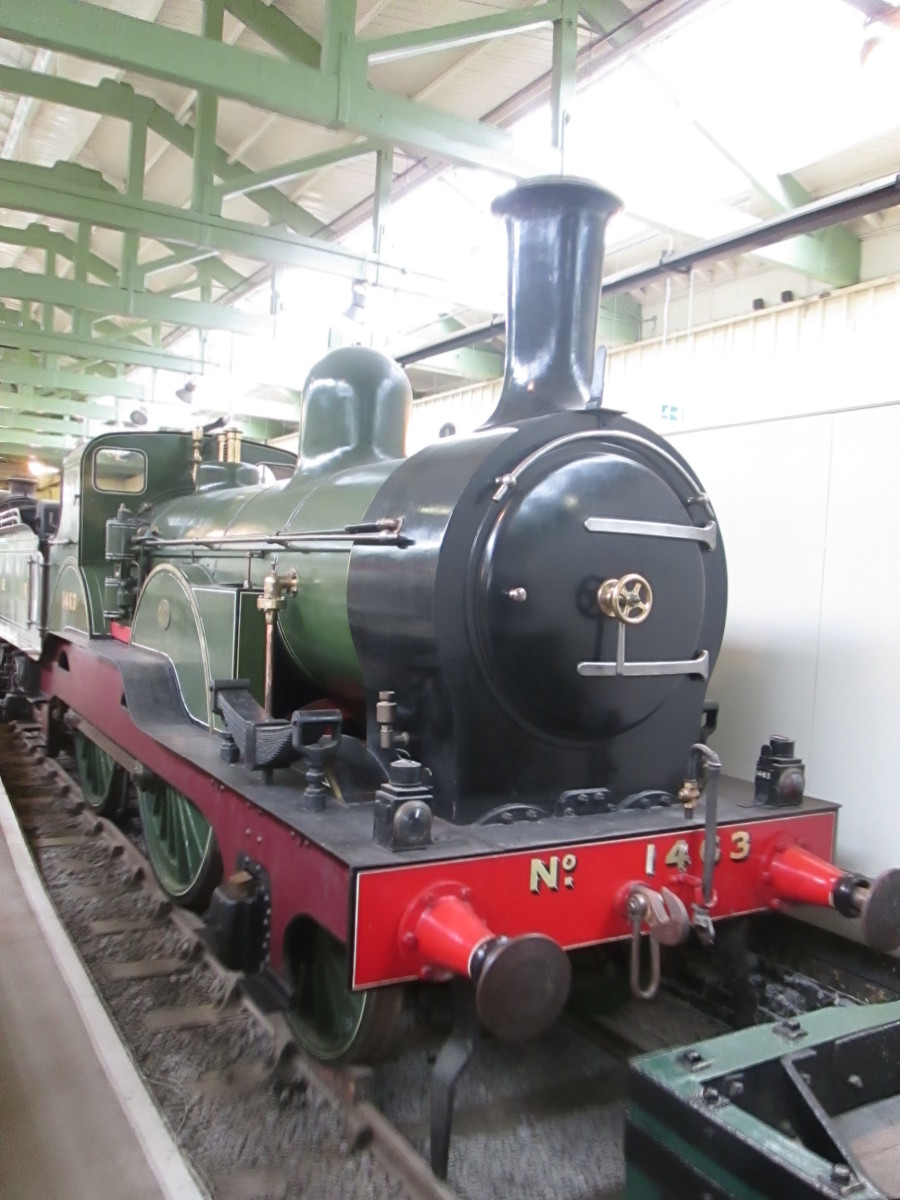 North Eastern Railway - Henry Tennant 2-4-0 Class 1463 of 1895. A fairly quick succession of Locomotive Superintendents dogged the NER in its first 30 years. Stability came soon after with the appointment of Thomas Worsdell