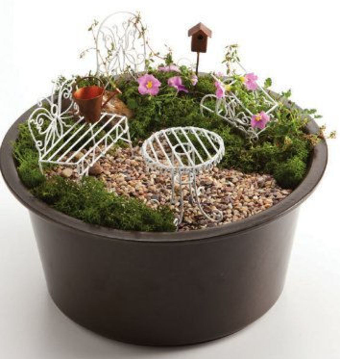 Fairy Mini Garden Furniture For Container Gardens