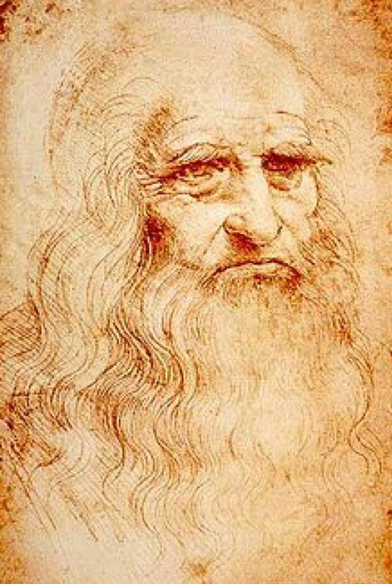 Leonardo Da Vinci Famous Renaissance Painter, Sculptor, and Architect