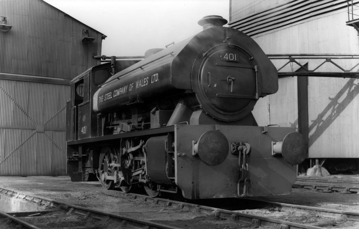 Welsh colliery steam,, National Coal Board - the NCB bought smaller industrial saddle- and side-tank locomotives from smaller manufacturers to work cramped colliery yardswhere bigger engines would de-rail on sub-standard or poorly maintained track