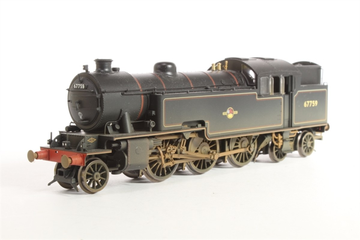 Hornby produced a fair likeness - this is one of the weathered version sold through Hattons, (with later BR lozenge emblems on side-tanks)