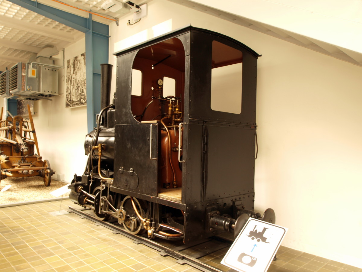 1884 narrow gauge industrial steam was employed - or 'thrashed' beyond normal working life then given over in broken-down state to museums
