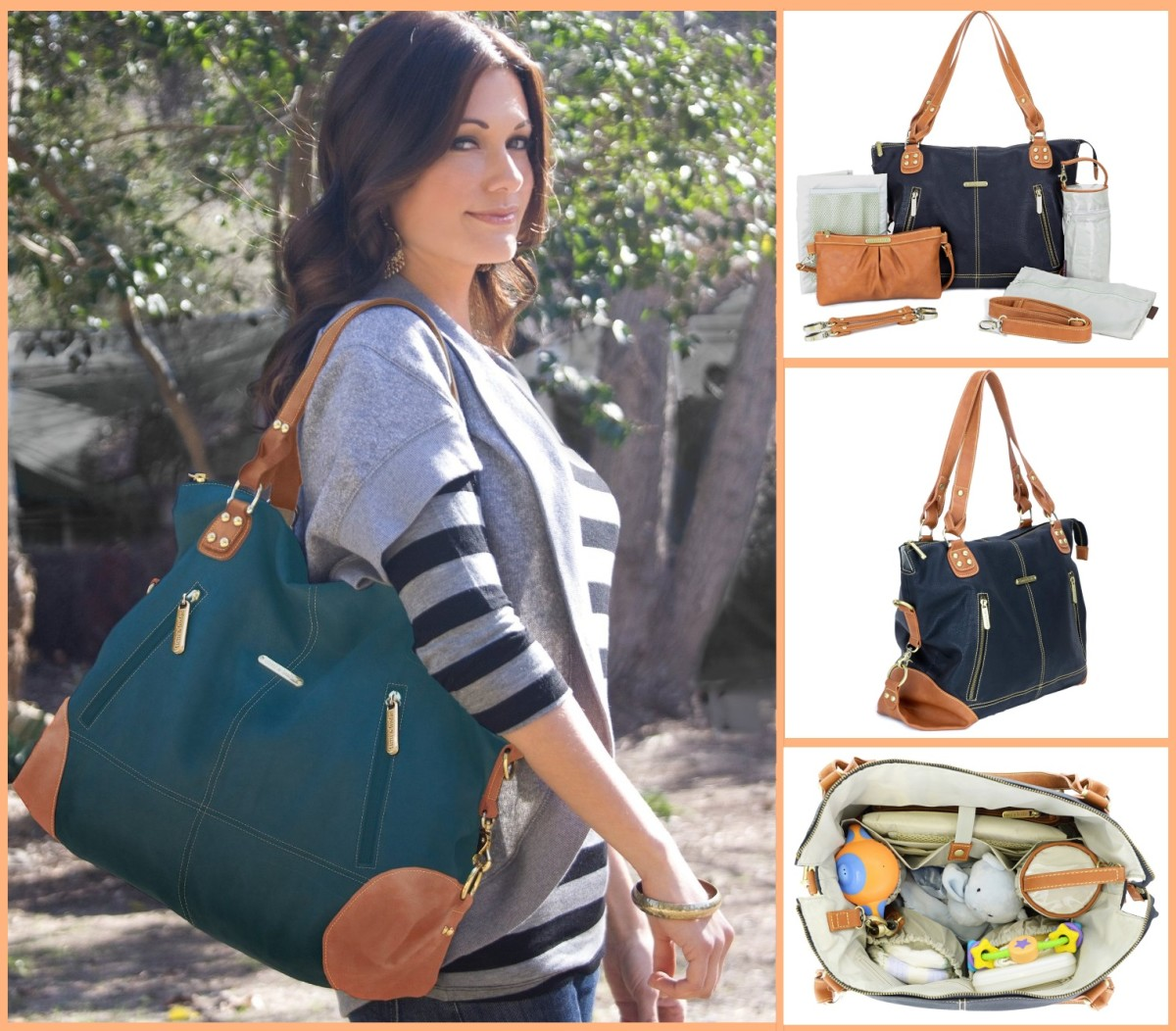 Trendy Modern Baby Diaper Bags - Combining Style & Functionality | 2015 Reviews