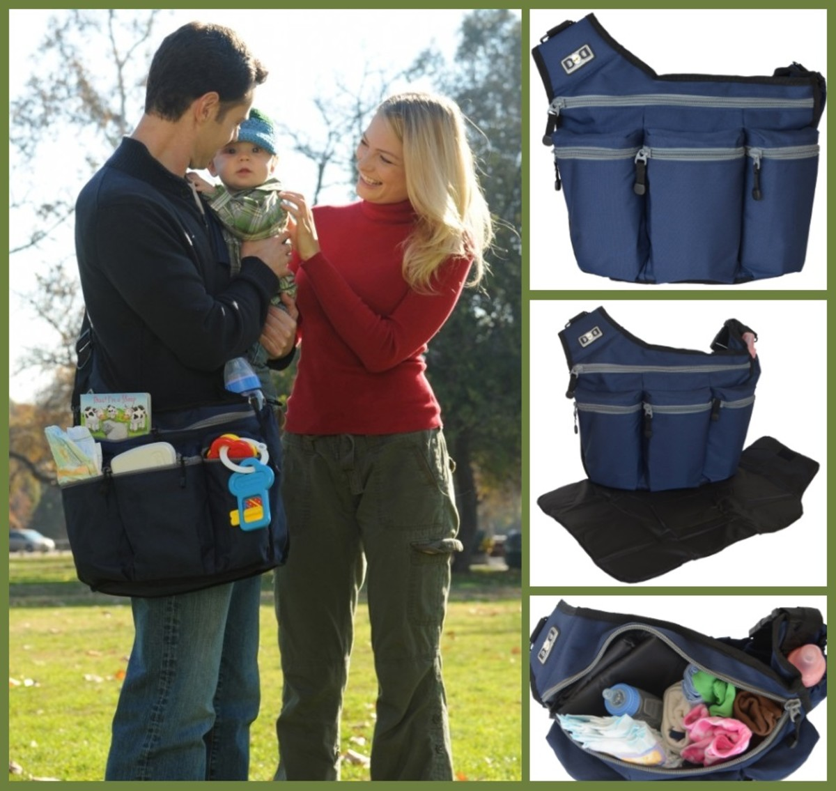 Diaper Dude Diaper Bag - Navy