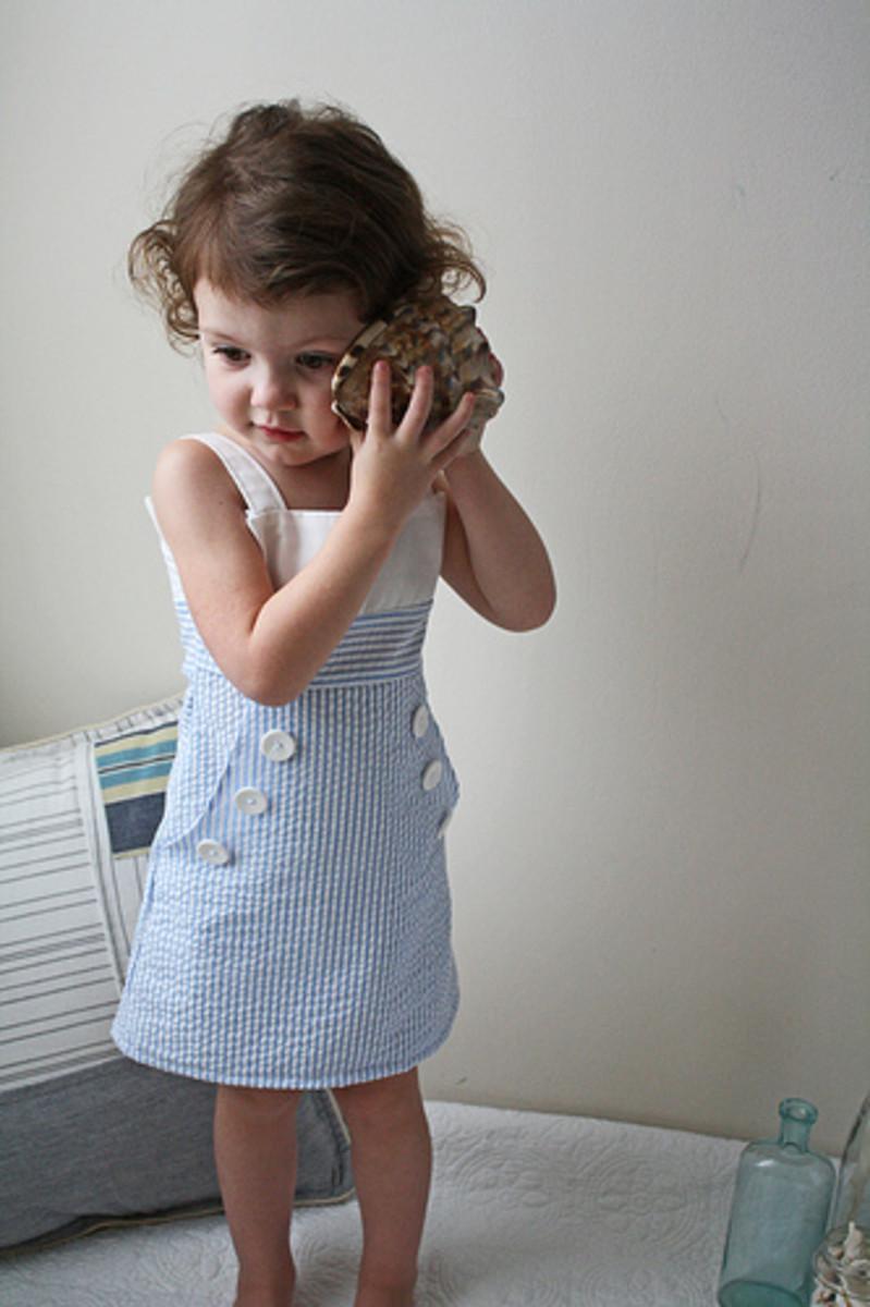 Mod Sailor Dress Tutorial