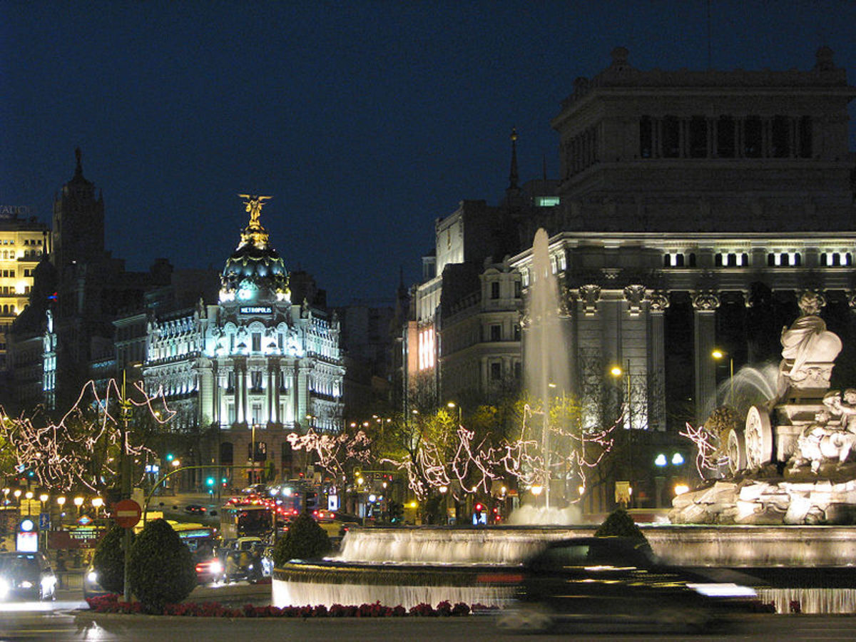 Plaza de Cibeles. Madrid, Spain