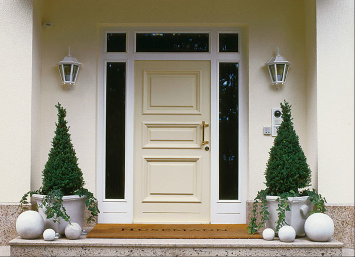 Feng shui and front door for Feng shui back door