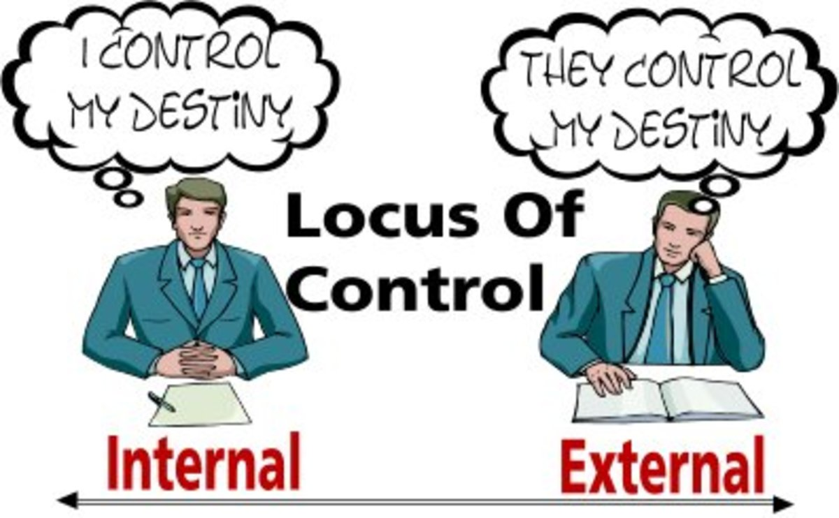 What exactly is 'locus of control'?