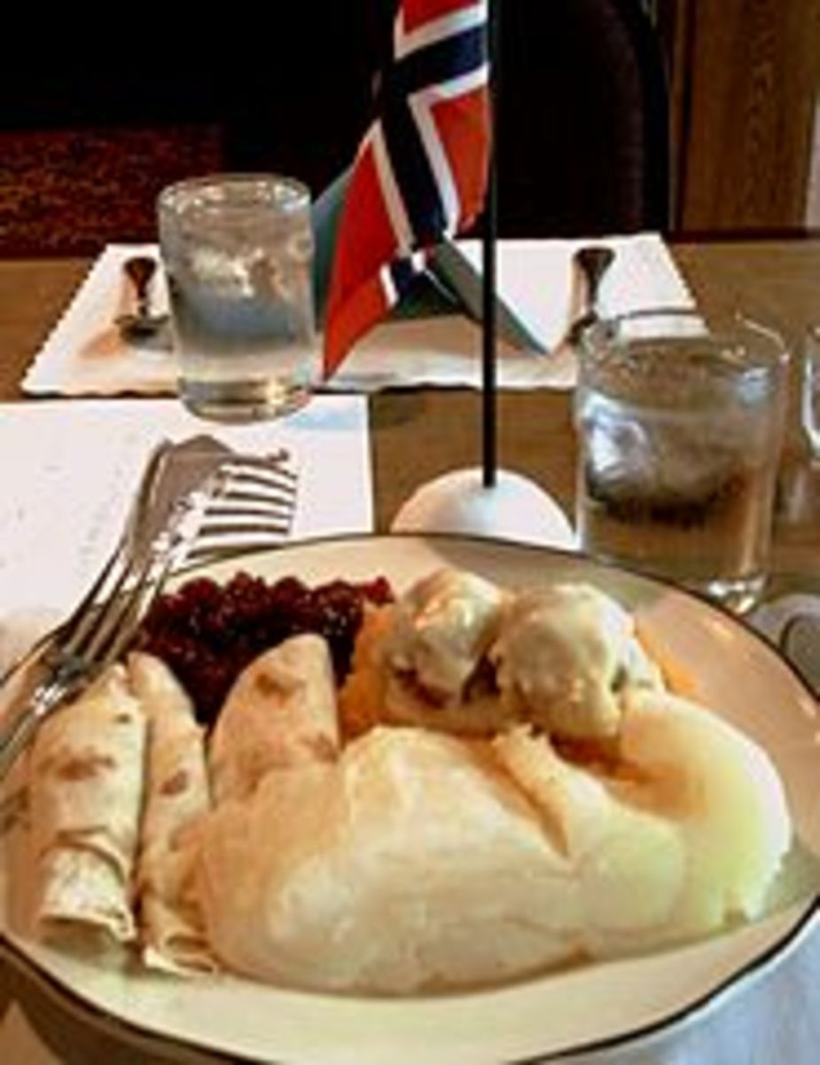 Lutefisk dinner.