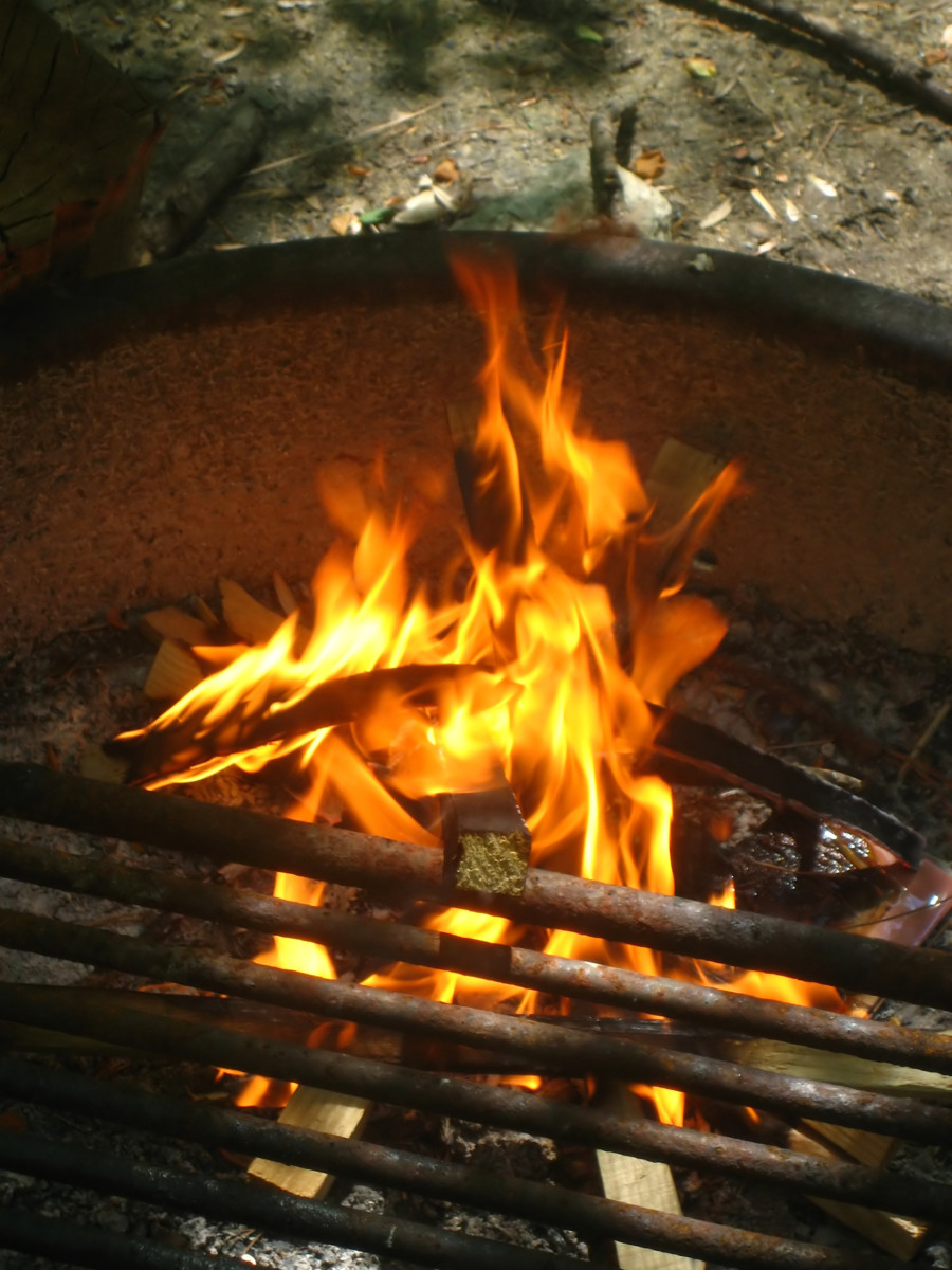 Light a fire and do some cowboy cooking!