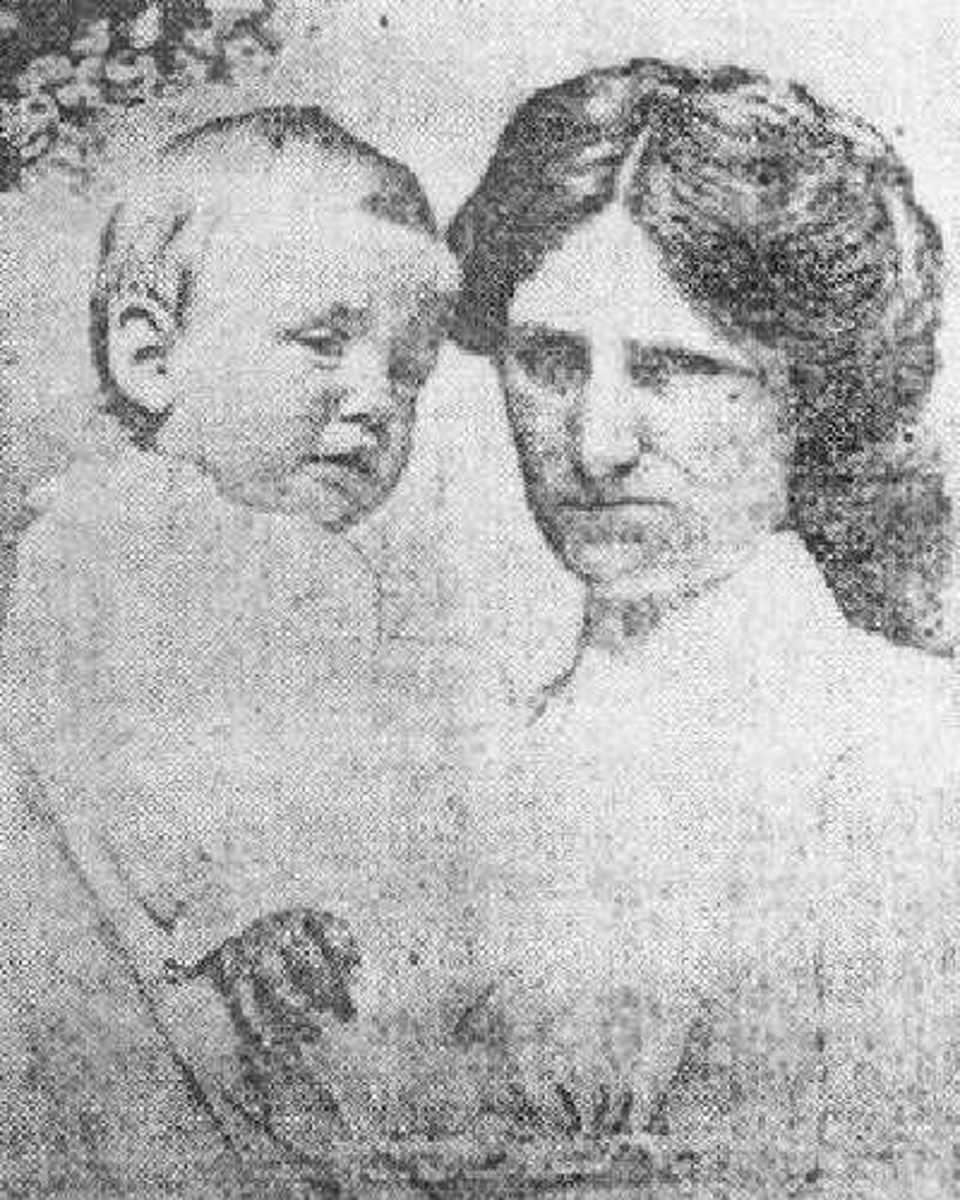 Nurse Alice Cleaver who saved baby Trevor Allison