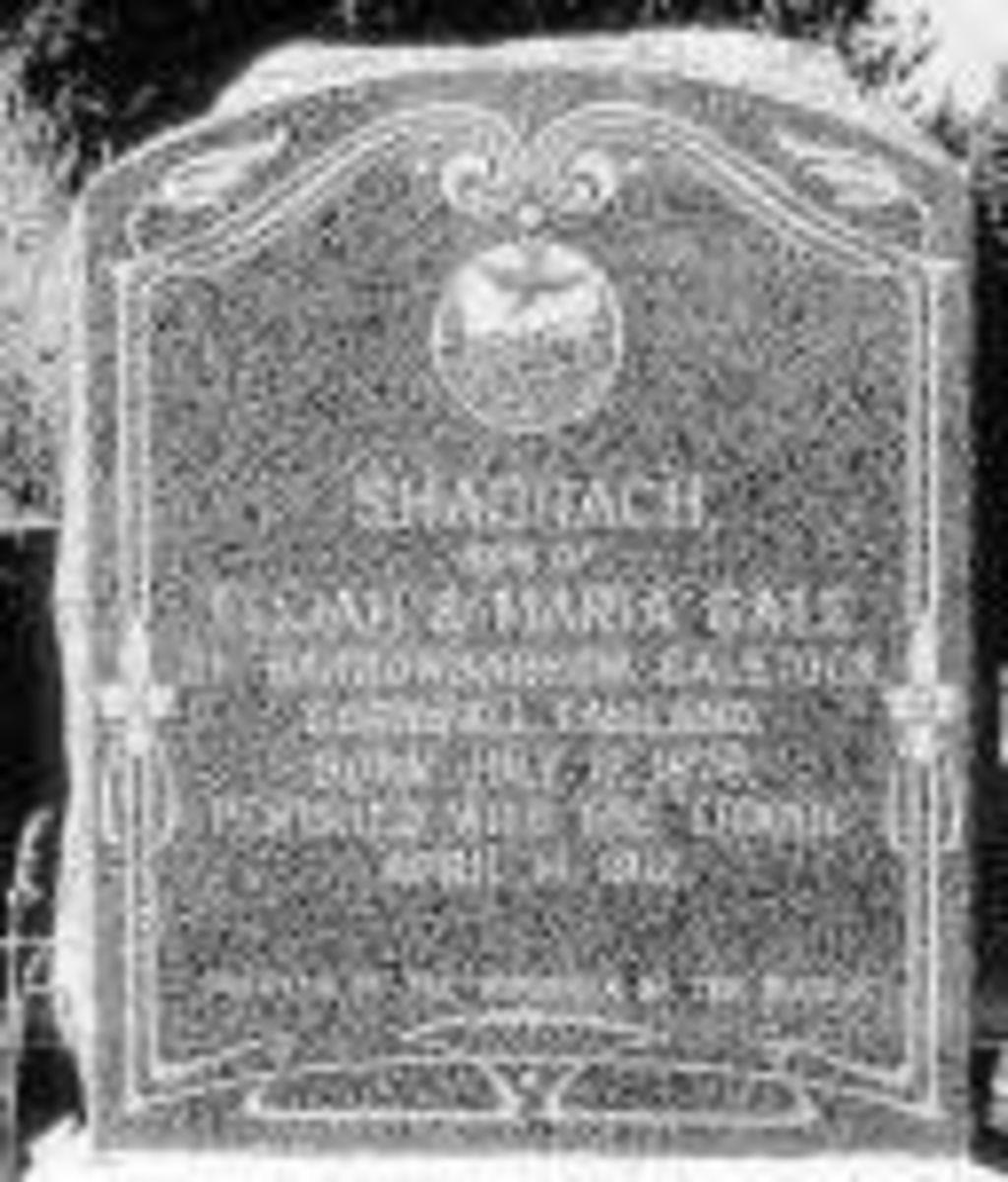 Shadrach's Grave