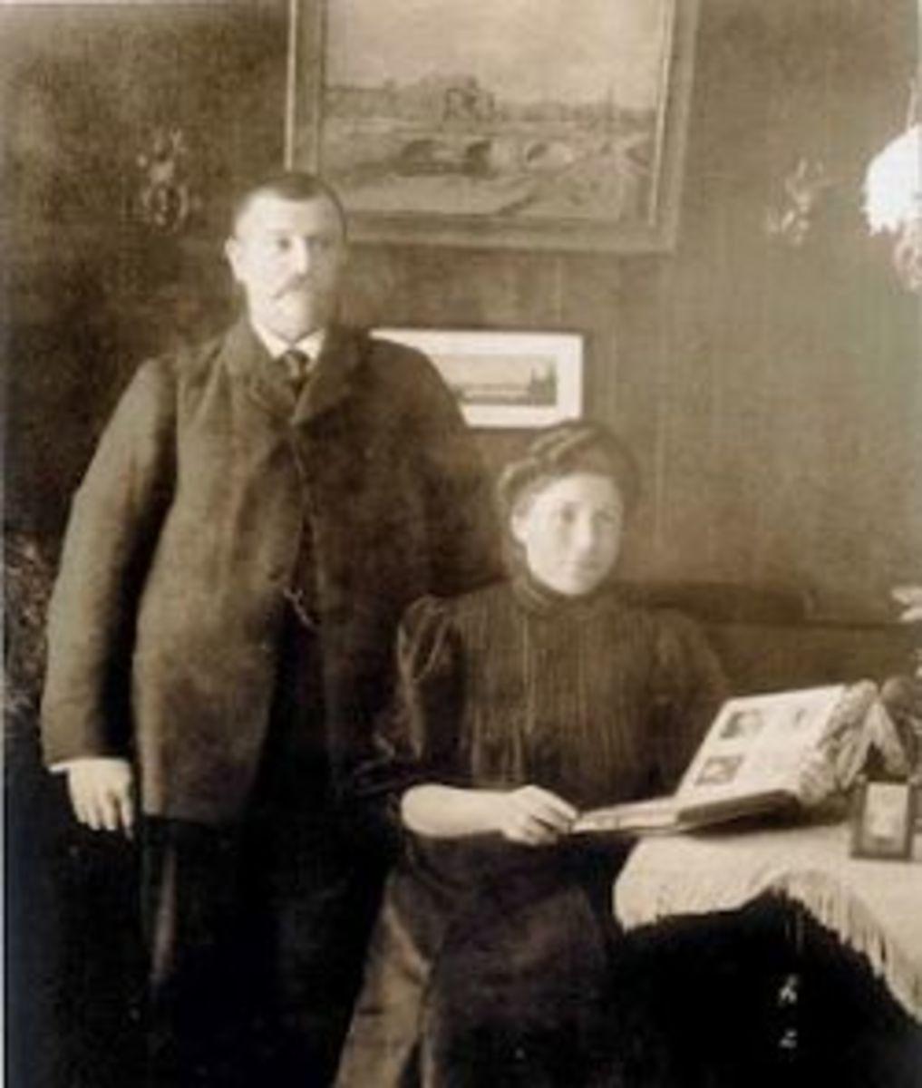 Edvard and Gerda Lindell