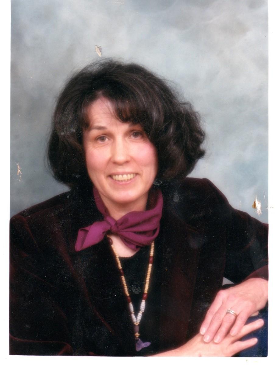 My Mom in 2001.