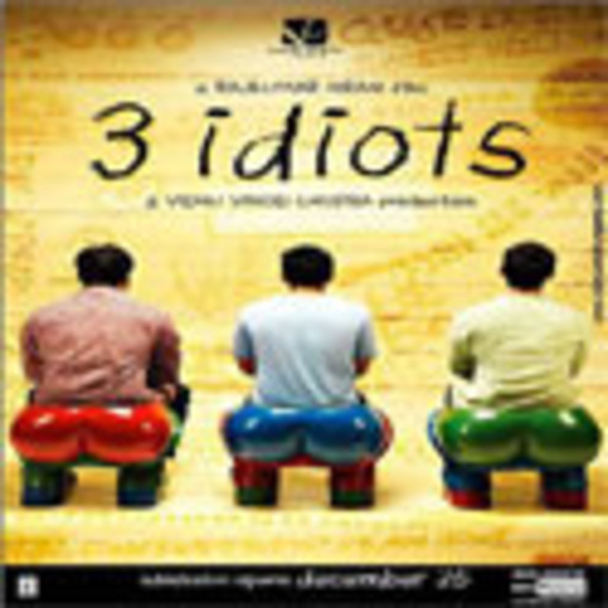 3 Idiots: Best Bollywood Movie