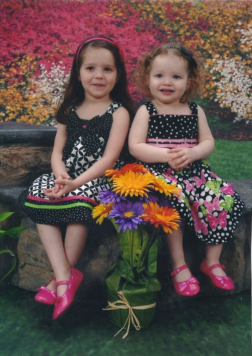 My granddaughters.