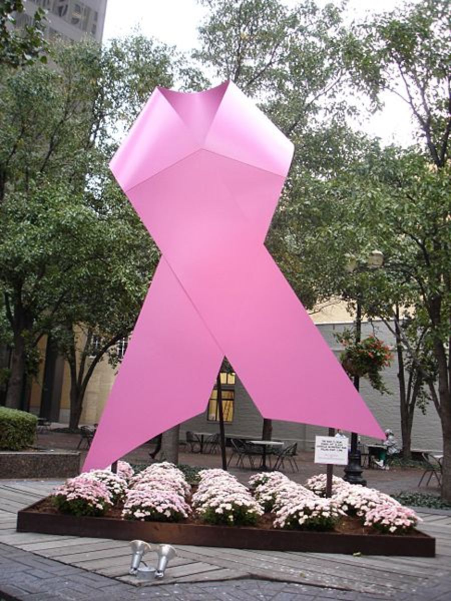 Breast Cancer Awareness CC-BY-2.0  Author: Jason Meredith 5 Oct, 2006