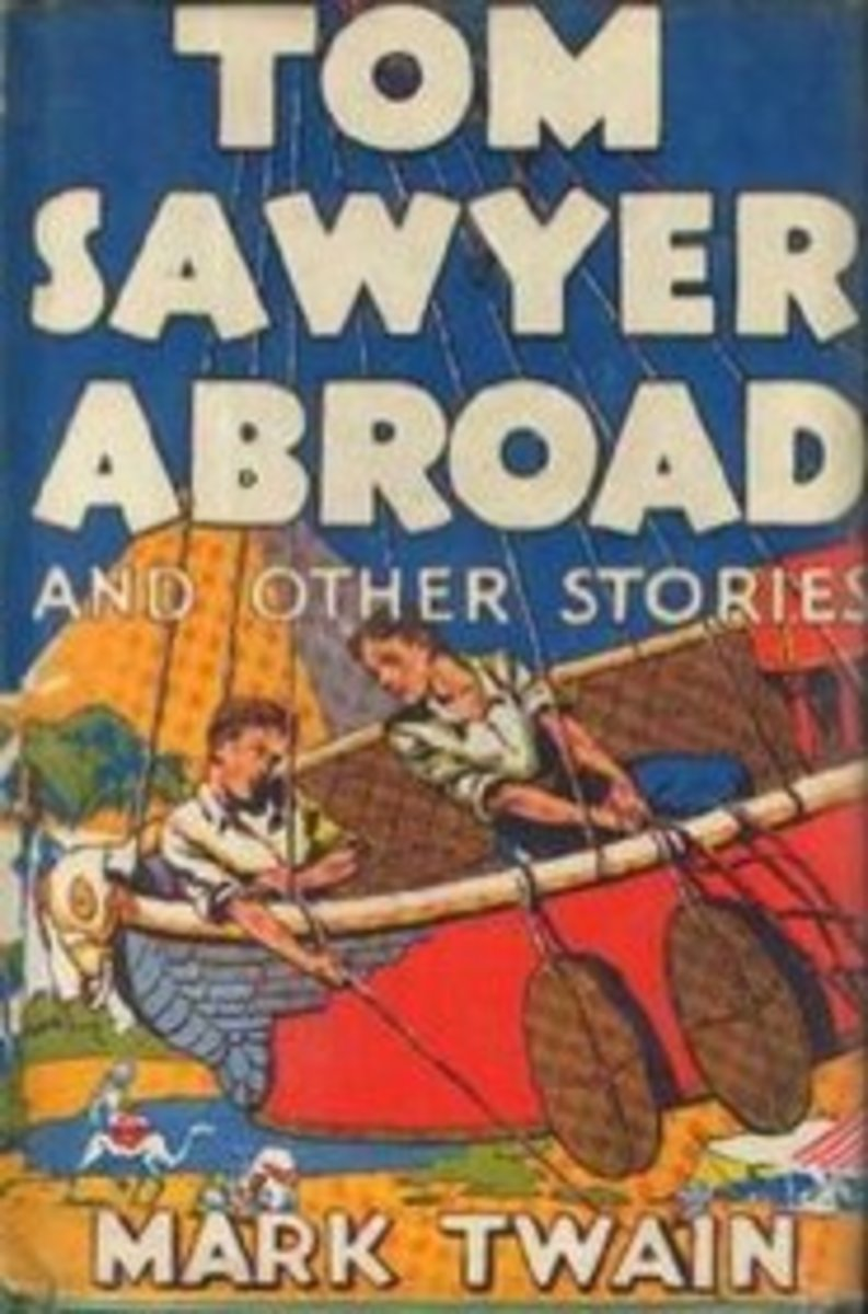 Tom Sawyer Abroad by Mark Twain, Summary
