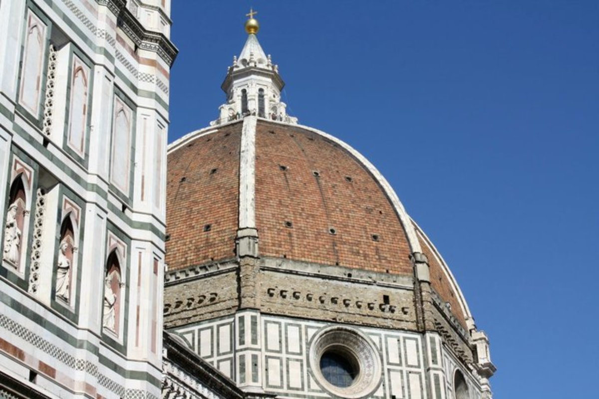 our school field trip to the Duomo in Florence