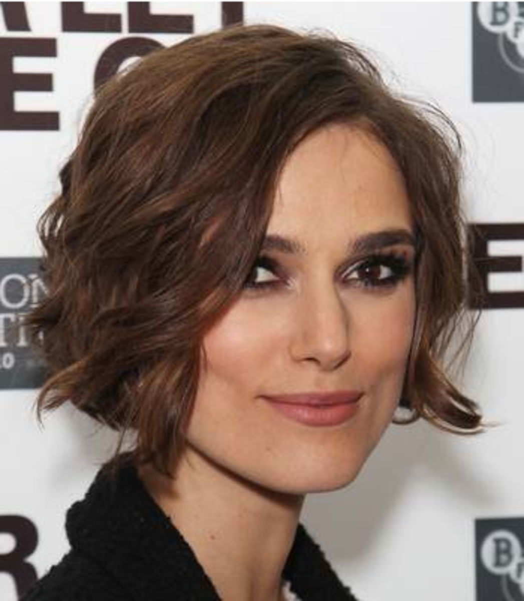 most flattering / gorgeous hairstyles for square faces