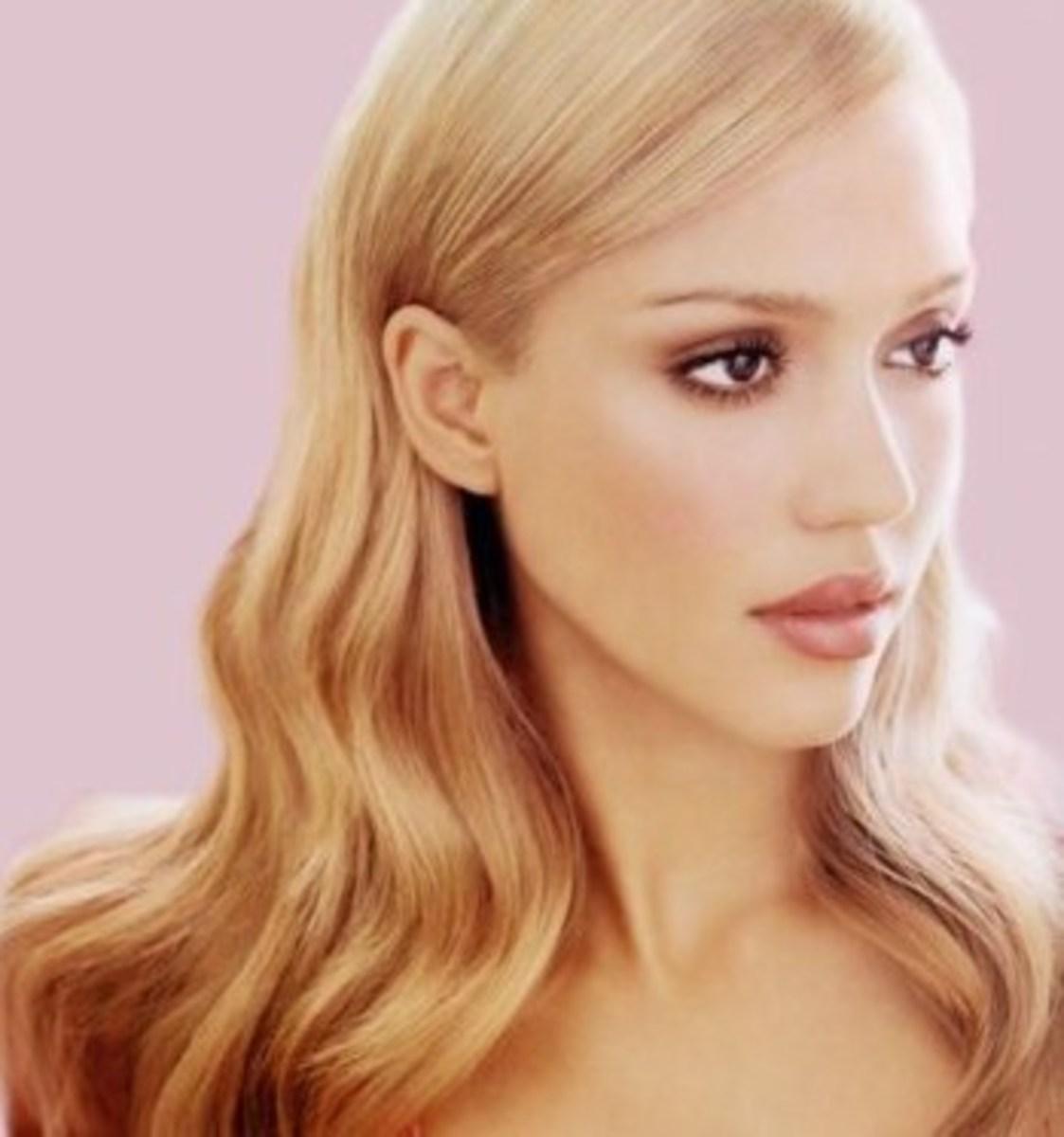 Jessica Alba with Blonde Hair