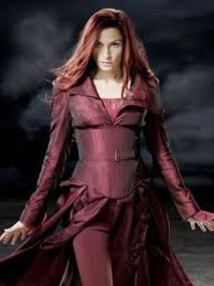 Famke Janssen as Phoenix in X-Men 3 The Last Stand