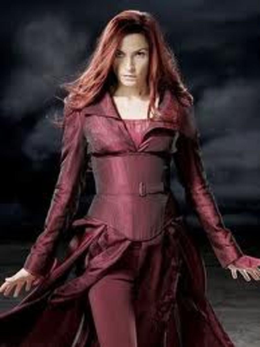 Famke Janssen as Phoenix in X-Men 3 The Last Stand