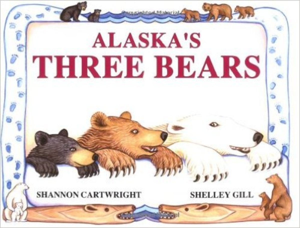 Alaska's Three Bears (PAWS IV) by Shelley Gill