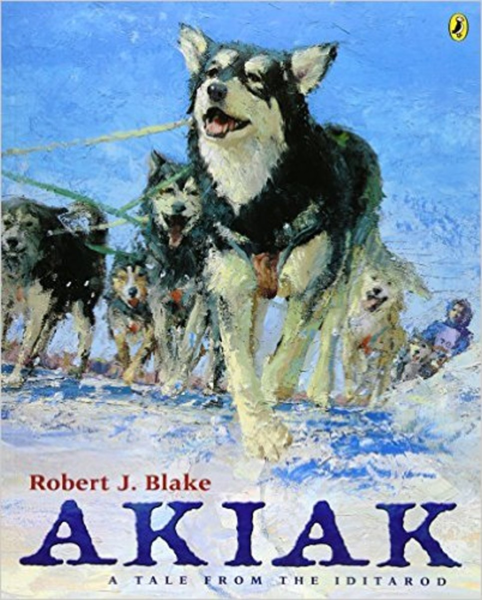 Akiak: A Tale From the Iditarod by Robert J. Blake