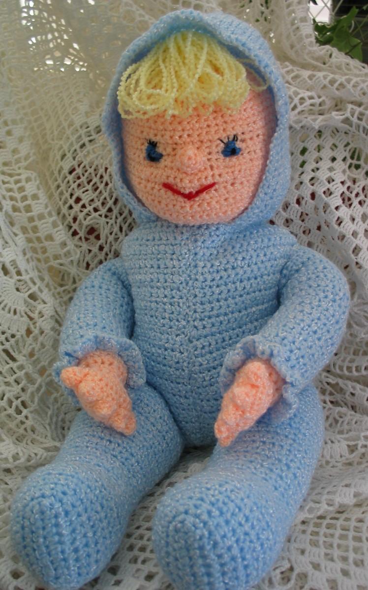 Crochet A Rag Doll Hair Wig for Kids - YouTube