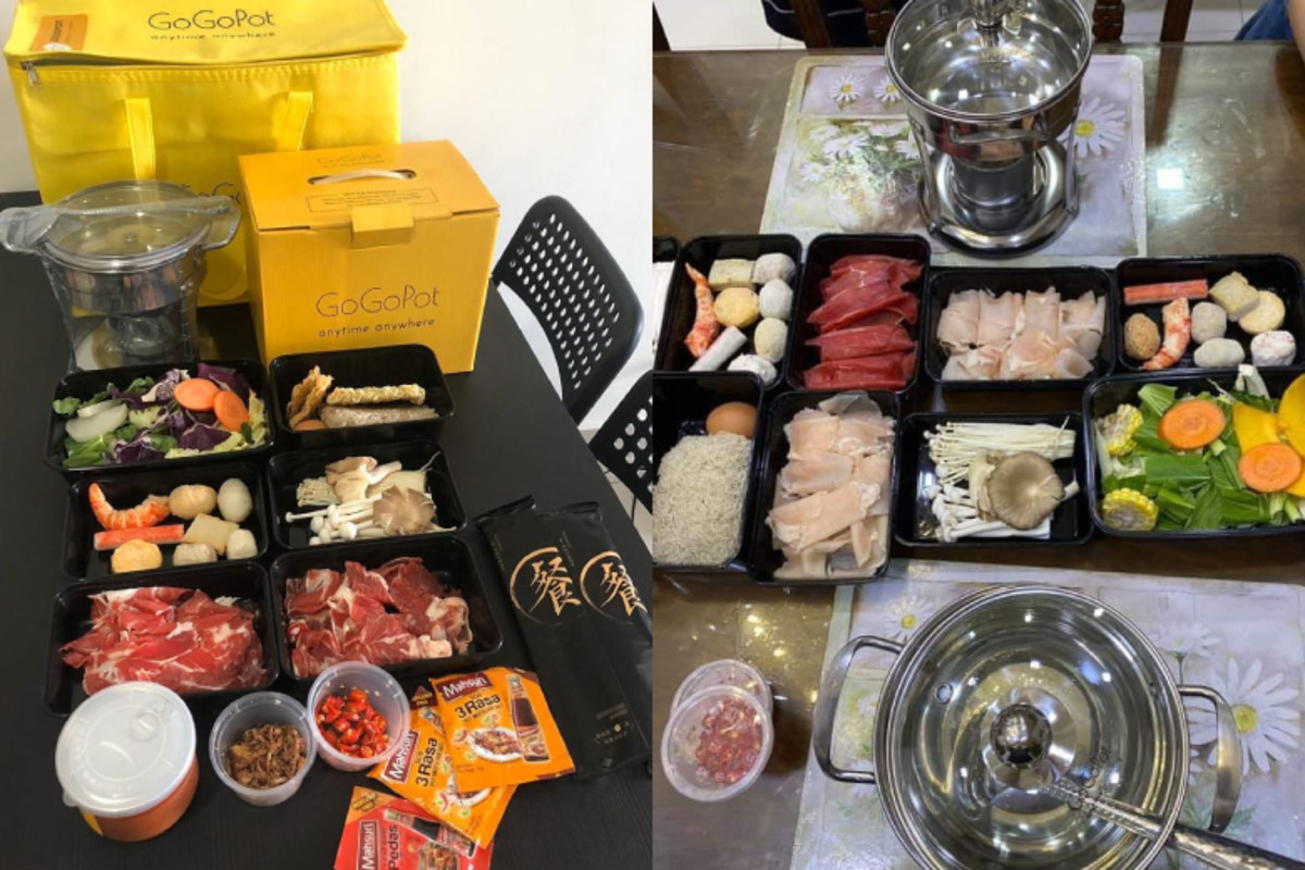 Hotpot delivery from Gogopot Delivery in Klang Valley, Malaysia.