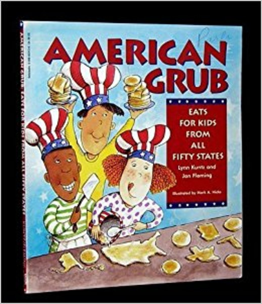 American Grub - Eats for Kids from All Fifty States by Lynn Kuntz - Book image is from amazon.com.